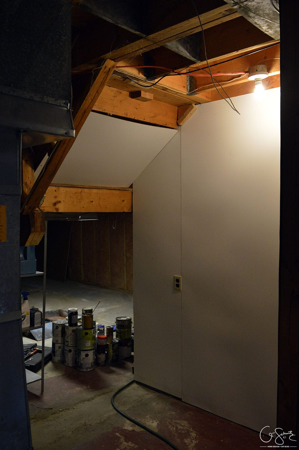 Cleaning the basement and prepping for ORC (one room challenge) has got me excited to share with you all the plans I have for the space (next week!).