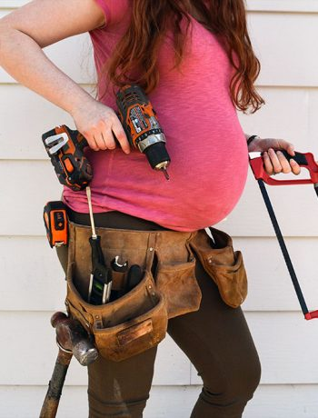 Here's a fun little post comparing pregnancy vs. DIY projects. If you've ever been pregnant, known someone who's been pregnant or completed your own DIY renovations and house projects... this one is for you!