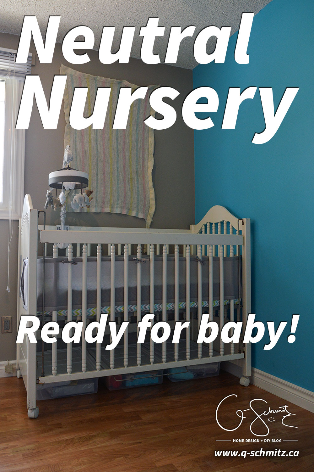 I finished our neutral nursery, and I've got all the essentials (crib, rocking chair, change table)… but would you mind helping decide if we need a rug?