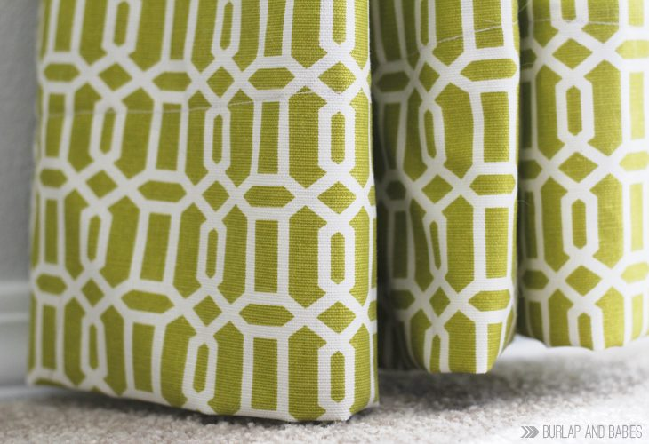 How to Make Curtains from A Crafted Passion
