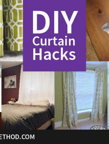 Curtains can definitely be a fun way to decorate and enhance a room, but there's no need to spend a fortune. I'm sharing some easy DIY curtain hacks to fix curtains that are too short (or too long, too wrong, whatever!)